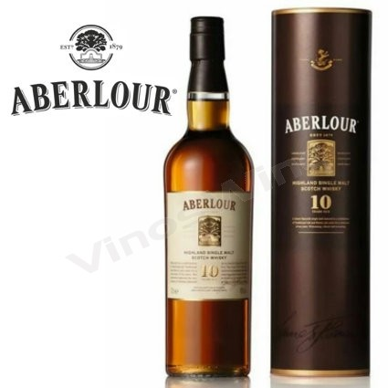 Aberlour 10 años Single Malt Whisky