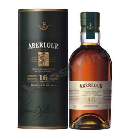 Aberlour 16 Double Cask. Single Malt Whisky