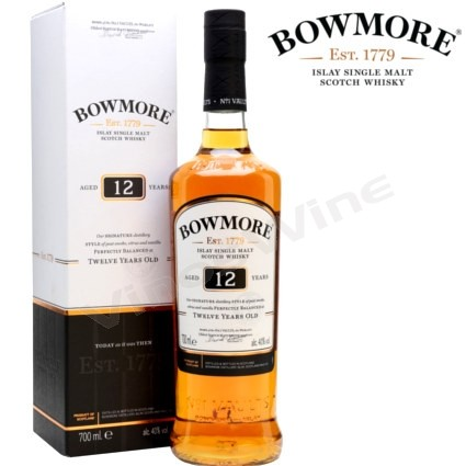 Bowmore 12 años Islay Single Malt