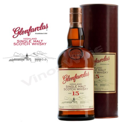 Glenfarclas 15 Single Malt Whisky