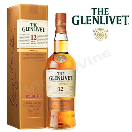 Glenlivet 12 años Whisky Single Malt