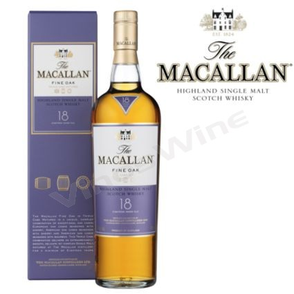 Macallan 18 Single Malt Fine Oak