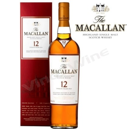 Macallan 12 Sherry Cask whisky