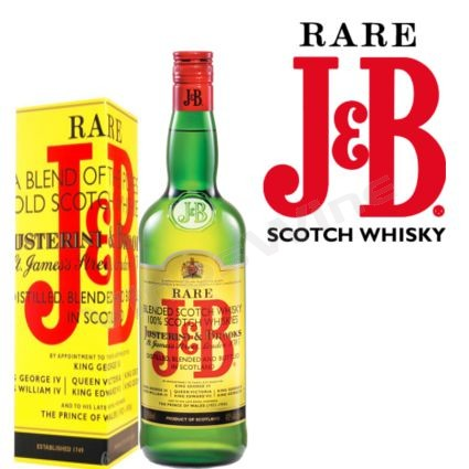 Whisky J&B Scotch Whisky 750 cc