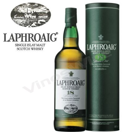 Whisky Laphroaig 18 Single Malt 700cc