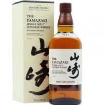 The Yamazaki Single Malt whisky japonés